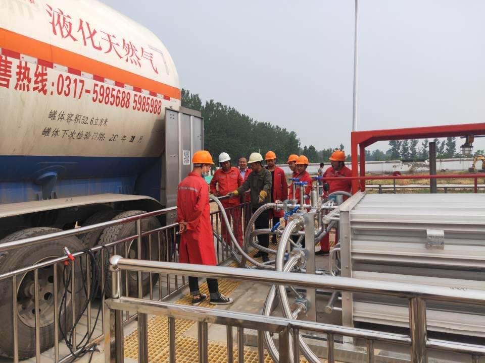 東明嘉寧LNG氣化器項目成功試運投產